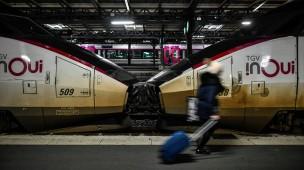 In Frankreich fallen etliche Züge an Weihnachten aus.