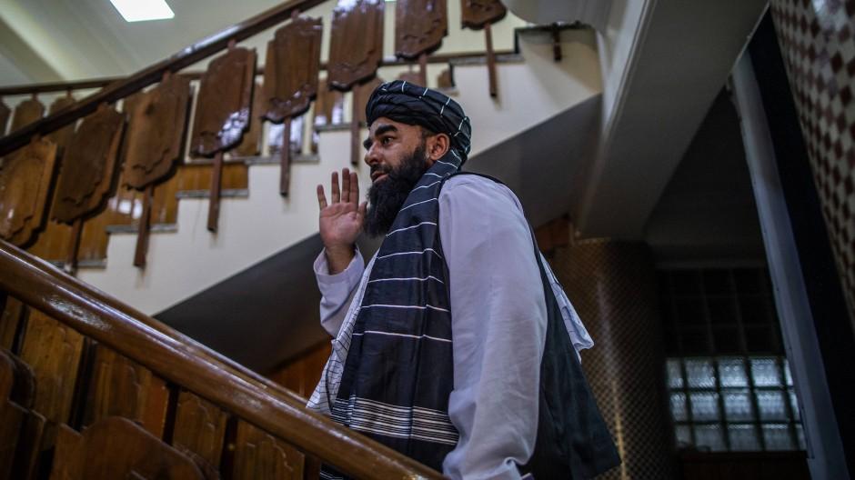 Taliban-Sprecher Zabihulla Mudschahid