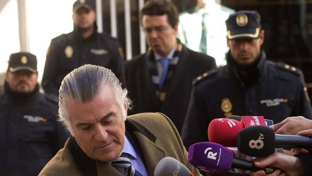 Der ehemalige Schatzmeister der Volkspartei, Luis Bárcenas,