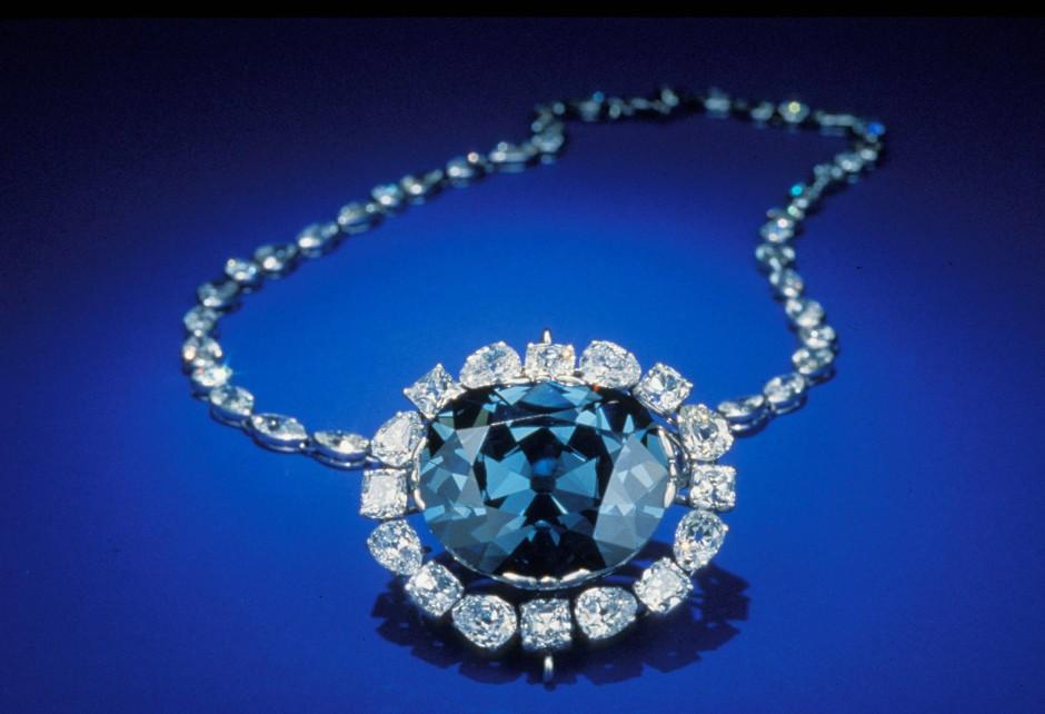 Im Besitz des Smithsonian-Instituts: der Hope-Diamant