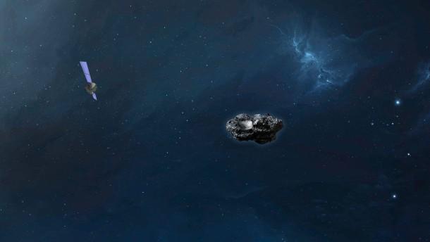 Asteroid ist nah an der Erde vorbei geflogen
