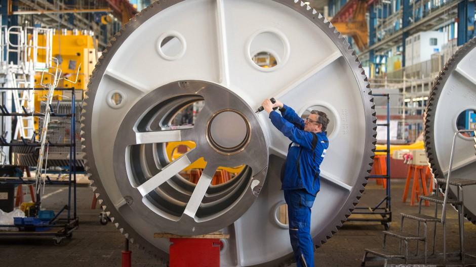 Baden-Württembergs Maschinenbauer erhalten immer weniger Aufträge.