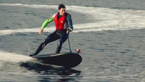 Surfen mit dem Elektrobrett