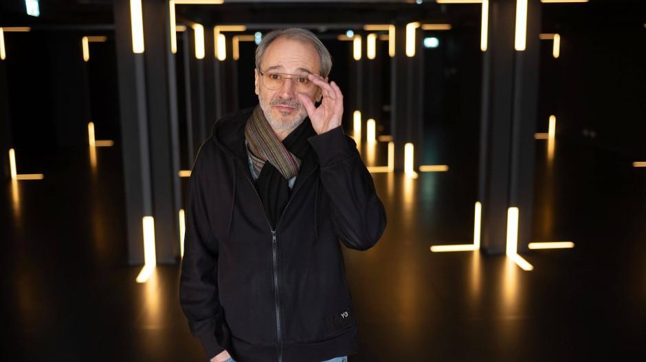 Der künftige Hausherr des Museums: Alex Azary, Vorsitzender des Vereins Friends of MOMEM