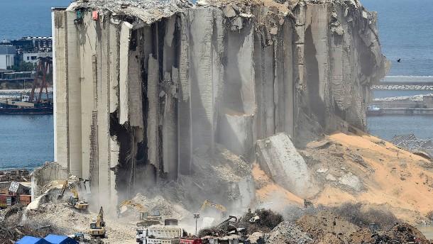 Regierung wurde offenbar noch im Juli vor Folgen einer Explosion gewarnt