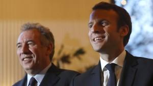 Macrons Koalitionspartner im Visier der Justiz