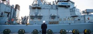 """Die Fregatte """"Augsburg"""" der deutschen Marine wird sich 2019 nicht mehr an der Operation """"Sophia"""" im Mittelmeer beteiligen. Der Marine fehlt es an Schiffen."""