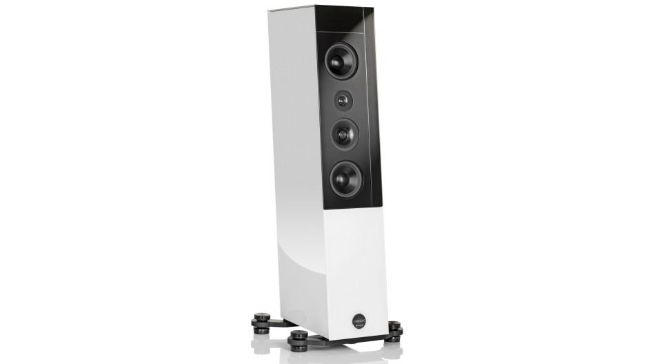 Schlanke Figur: Lautsprecher Cardeas von Audio Physic