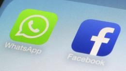 Grüne fordern Trennung von Facebook und Whatsapp