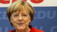 Angela Merkel spricht über ihre Kanzlerkandidatur