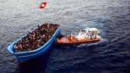 Mehr als 1100 Flüchtlinge im Mittelmeer gerettet