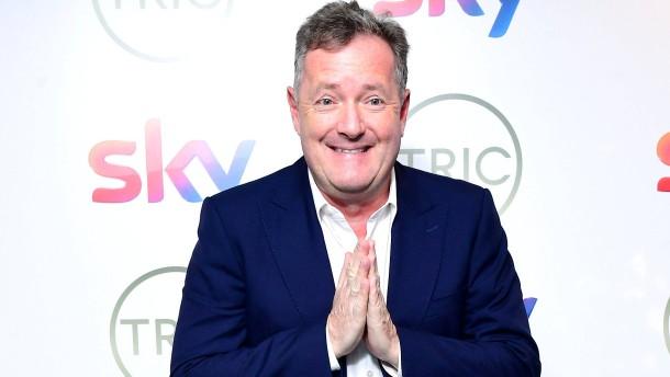 Fernsehmoderator Piers Morgan wirft das Handtuch