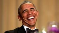 Obama bei Pressedinner zu Scherzen aufgelegt