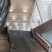 Das moderne Konferenzzentrum liegt im Inneren der Großmarkthalle