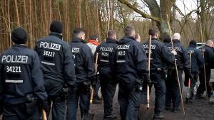 Polizei sucht in Brandenburger See nach Rebecca