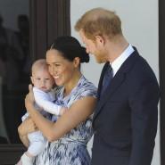 Herzogin Meghan, Prinz Harry und Sohn Archie im September 2019