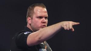 """""""Auberginen-König"""" van Duijvenbode im Viertelfinale"""