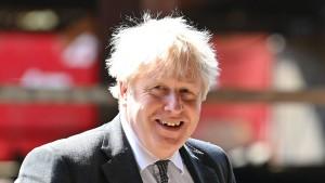 Johnson gibt sich vor britischem Superwahltag optimistisch