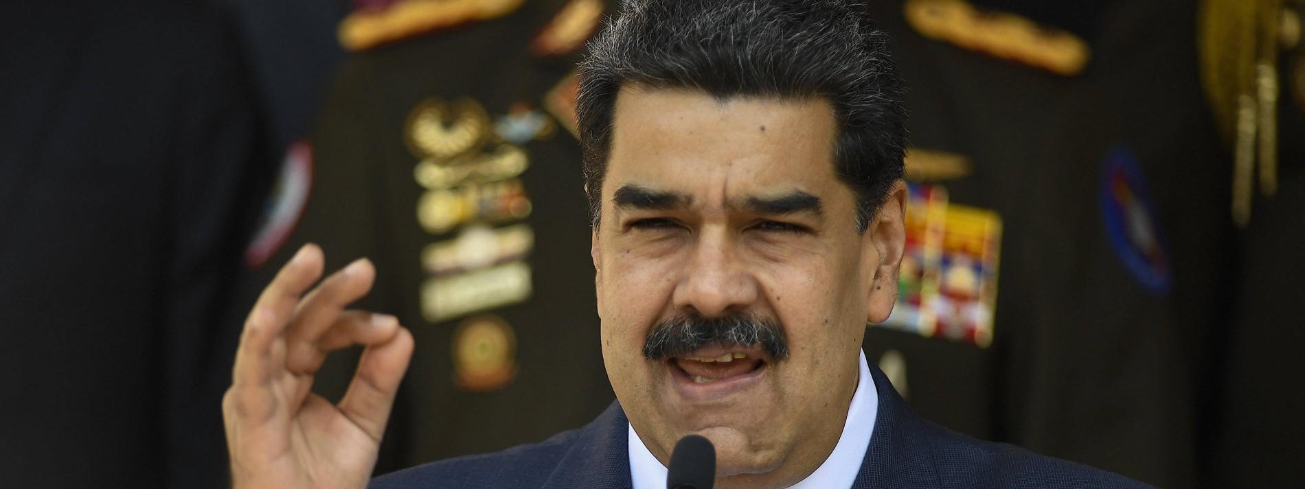 """Maduro wirft Amerika und Europa """"Terrorangriff"""" auf Ölraffinerie vor"""