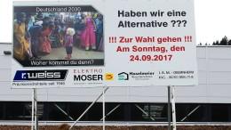 Überfremdungsangst schüren für die AfD