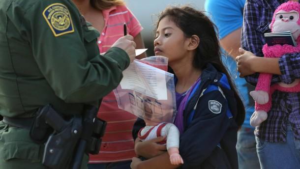Obama droht mit Abschiebung Tausender Migrantenkinder