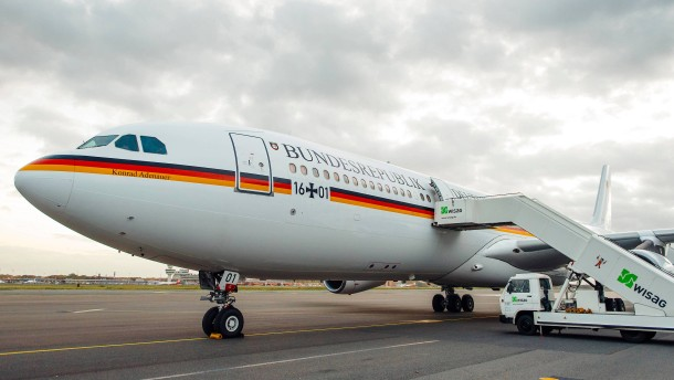 Scholz muss auf kleineres Flugzeug umsteigen