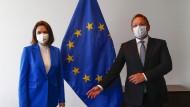 """EU-Sanktionen gegen Belarus: """"Ich hoffe, dass dieses Regime in die Knie geht"""""""