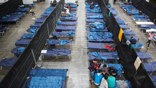 Flüchtlinge verschwinden aus Notunterkünften