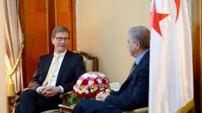 Westerwelle besucht Algerien