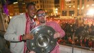 FC Bayern feiert Meistertitel