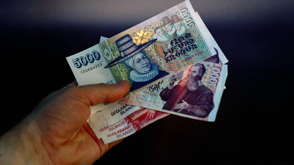 Isländische Banknoten