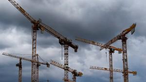 Dunkle Wolken über Deutschlands Industrie
