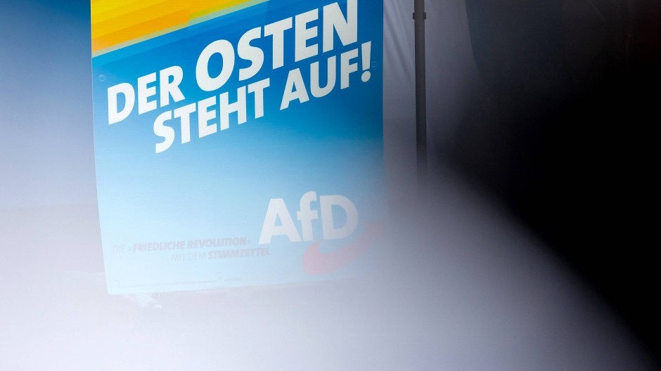 Wahlkampf der AfD in Brandenburg 2019