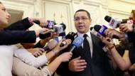 Rumäniens Ministerpräsident Ponta tritt zurück