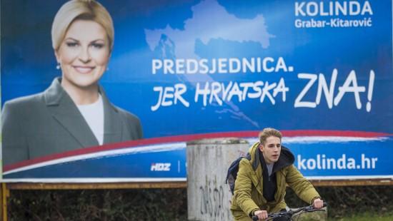 Präsidentschaftswahl in Kroatien