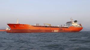 Südkorea beschlagnahmt Öltanker