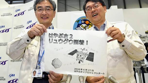 Sonde mit deutschem Landemodul erreicht Asteroiden