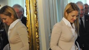 Justizminister treffen Timoschenkos Tochter
