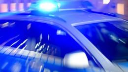 Polizei sucht nach bewaffnetem Mann