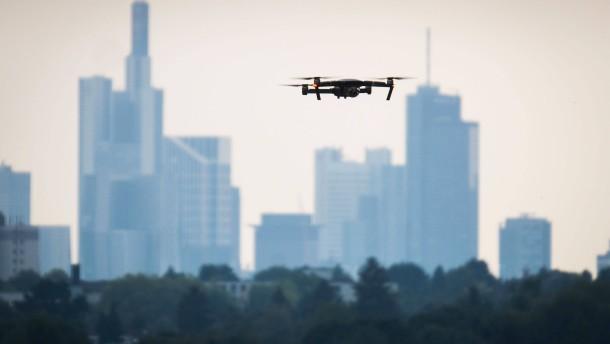 Deutlich mehr Drohnen am Frankfurter Flughafen gesichtet