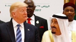 Trump macht Druck auf den saudischen König
