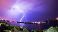 Schwere Gewitter sorgen für Verkehrschaos