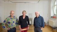 Leises Servus: Herbert Woyke, Inge Holzheimer und Albert Völkmann (von links).