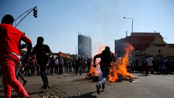 Schüsse in Zimbabwes Hauptstadt