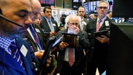 Zinsanstieg verunsichert Aktionäre nicht nur in Amerika