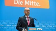 Seine Rede wird mit Spannung erwartet: CDU-Generalsekretär Peter Tauber