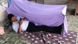 Schläft Morales jetzt auf dem Boden?