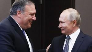 Pompeo: Putin akzeptiert Amerikas Führung