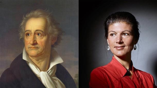 Goethe sah die Gefahren einer durchkommerzialisierten Gesellschaft vor Marx