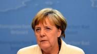 Die alte und neue Wortführerin unter den EU-Managern: Bundeskanzlerin Angela Merkel (CDU)